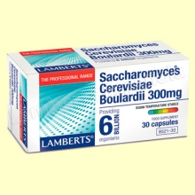 Saccharomyces Boulardii - 30 cápsulas - Lamberts