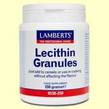 Lecitina de Soja Granulada- Lamberts - 250 gramos