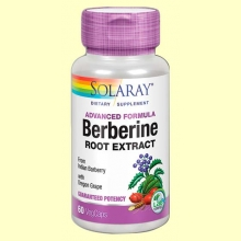 Berberine - 60 cápsulas - Solaray