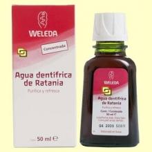 Agua dentrífica de Ratania - 50 ml - Weleda