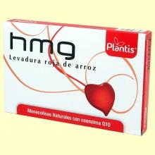 HMG Levadura Roja de Arroz - 60 cápsulas - Plantis