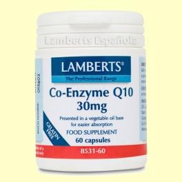 Coenzima Q-10 30 mg - Antioxidante - 60 cápsulas - Lamberts