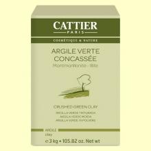 Arcilla Verde Triturada - 3 kg - Cattier