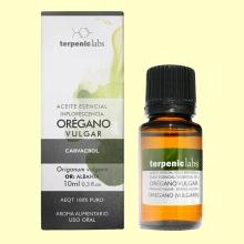Orégano - Aceite Esencial - 10 ml - Terpenic Labs