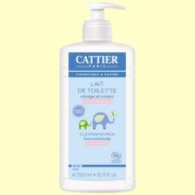 Leche Limpiadora para Bebé Bio - 500 ml - Cattier