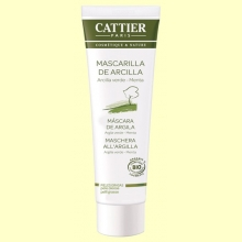 Mascarilla Arcilla Verde Bio - Pieles Mixtas y Grasas - 100 ml - Cattier