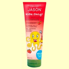 Dentífrico Kids Only Fresa - 119 gramos - Jason