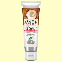 Dentífrico Crema de Coco - Blanqueador - 119 gramos - Jason