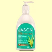 Loción de Manos y Cuerpo Aloe Vera al 70% - 454 ml - Jason