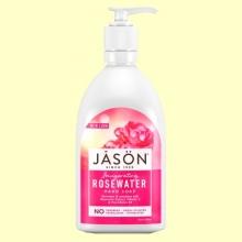 Gel de Manos Agua de Rosas - 473 ml - Jason