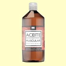 Aceite Masaje Muscular - 1 litro - Terpenic Labs