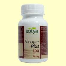 Vinagre Plus - Vinagre de Manzana - 100 cápsulas - Sotya