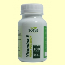 Vitamina E - High Potency - 100 cápsulas - Sotya
