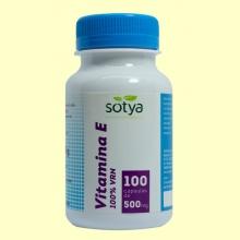 Vitamina E - 100 cápsulas - Sotya