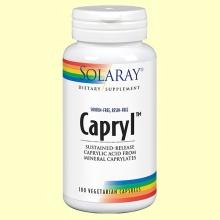 Capryl - Candidiasis - 100 cápsulas - Solaray