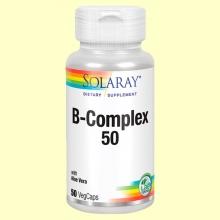 B-Complex 50 - Solaray - 50 cápsulas