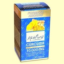 Cúrcuma 10.000 mg Estado Puro - 80 cápsulas - Tongil