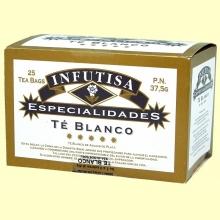 Té Blanco Infusión - 25 bolsitas - Infutisa