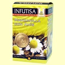 Manzanilla con Anís Infusión - 25 bolsitas - Infutisa