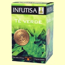 Té Verde Infusión - 25 bolsitas - Infutisa