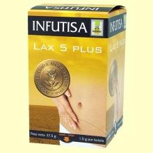 Lax 5 Plus - Vientre plano - 25 bolsitas - Infutisa