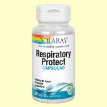Respiratory Protect - 30 cápsulas - Solaray
