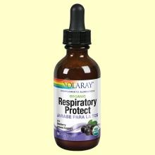Jarabe para la Tos Organic Respiratory Protect - 59 ml - Solaray