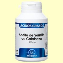 Aceite de Semilla de Calabaza 1.000 mg - 120 cápsulas - Equisalud
