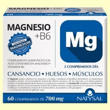 Magnesio + Vitamina B6 - 60 comprimidos - Natysal