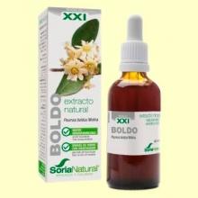 Boldo Formula XXI - Extracto de Glicerina Vegetal - 50 ml - Soria Natural