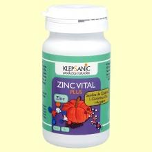 Zinc Vital Plus - 60 cápsulas - Klepsanic