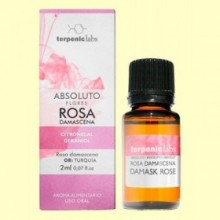 Rosa Damascena Absoluto - Aceite Esencial - 2 ml - Terpenic Labs