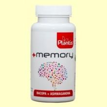 +Memory - 45 cápsulas - Plantis