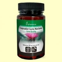 Capsudiet Cardo Mariano - 40 cápsulas - Plameca