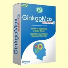 GinkgoMax Memory - 30 tabletas - Laboratorios ESI