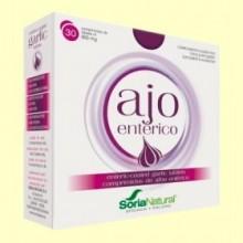 Ajo Entérico - 30 comprimidos - Soria Natural