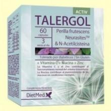 Talergol Activ - 60 cápsulas - DietMed