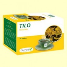 Tilo Infusión - 20 bolsitas - DietMed