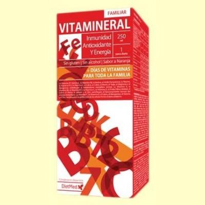 Vitamineral Familiar - 250 ml - DietMed
