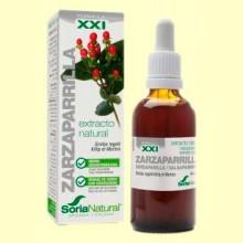 Zarzaparrilla Fórmula XXI - Extracto de Glicerina Vegetal - 50 ml - Soria Natural