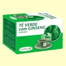Té Verde con Ginseng Infusión - 20 bolsitas - DietMed