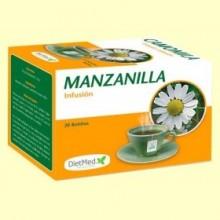 Manzanilla Infusión - 20 bolsitas - DietMed