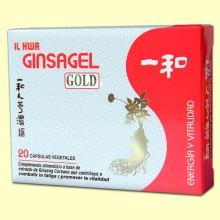 Ginsagel Gold - Extracto de Ginseng IL HWA - 20 perlas - Tongil