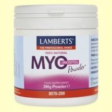 Myo Inositol en Polvo - 200 gramos - Lamberts