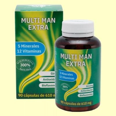 MultiMan Extra - Complejo Vitamínico - 90 cápsulas - Espadiet