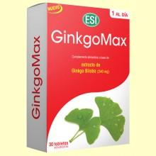 GinkgoMax - 30 tabletas - ESI