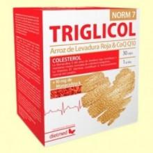 Triglicol Norm 7 - 30 cápsulas - DietMed