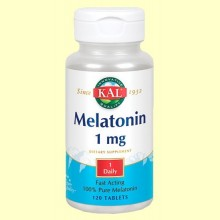 Melatonin - Melatonina - 120 comprimidos - Laboratorios KAL