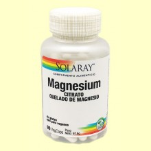 Magnesium - Magnesio - 90 cápsulas - Solaray