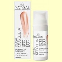 Rosa Mosqueta BB cream - Color Claro - 30 ml - Natysal